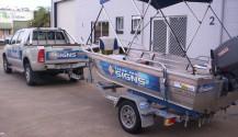 Stripe Pro Boat